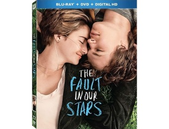 77% off The Fault in Our Stars (Blu-ray + DVD + Digital HD)