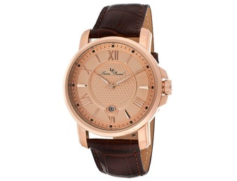 94% off Lucien Piccard Cilindro Rose Gold Men's Watch