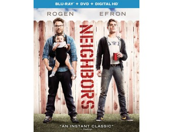 86% off Neighbors (Blu-ray + DVD + Digital HD with UltraViolet)
