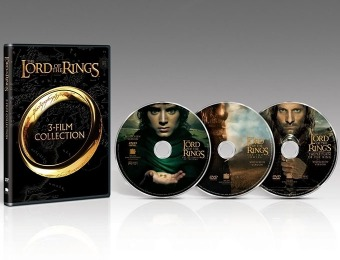 52% off Lord of the Rings: The Motion Picture Trilogy DVD