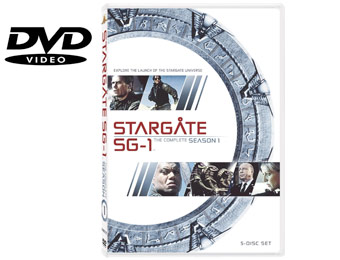 61% Off Stargate SG-1: The Complete First Season (DVD)
