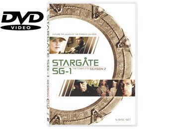 57% Off Stargate SG-1: The Complete Second Season (DVD)