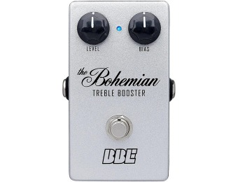 59% off BBE Bohemian Treble Boost Guitar Pedal