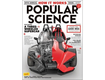 $44 off Popular Science Magazine Subscription, 1 year
