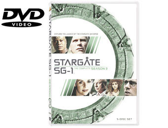 59% Off Stargate SG-1: The Complete Third Season (DVD)