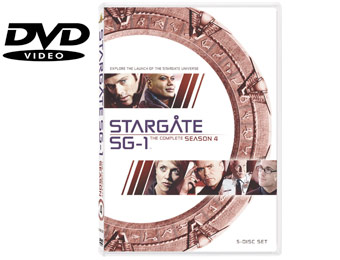 58% Off Stargate SG-1: The Complete Fourth Season (DVD)
