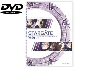 61% Off Stargate SG-1: The Complete Fifth Season (DVD)