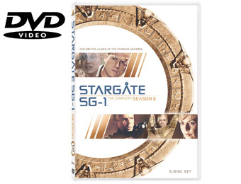 58% Off Stargate SG-1: The Complete Sixth Season (DVD)