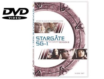 63% Off Stargate SG-1: The Complete 8th Season (DVD)