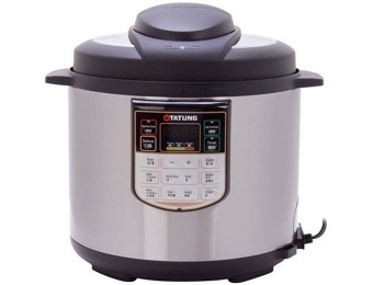 $150 off Tatung 6L Stainless Steel Electric Pressure Cooker