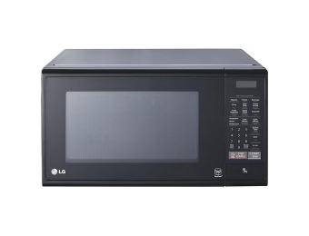 36% off LG LCS1114SB 1.1 Cu. Ft. Mid-Size Black Microwave