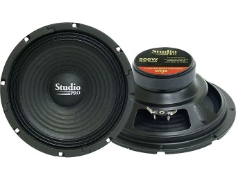 "72% off Pyramid WH8 8"" 200 Watt High Power 8 Ohm Subwoofer"