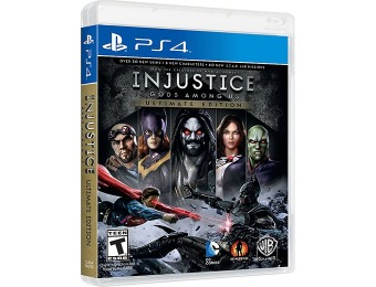 Extra 33% off Injustice: Gods Among Us - Ultimate Edition PS4