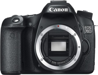 17% off Canon EOS 70D 20.2MP Digital SLR Camera (Body Only)