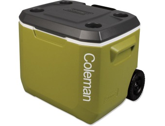 55% off Coleman Xtreme 5 Wheeled Cooler, 50-Quart