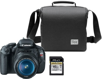 $97 off Canon EOS Rebel T3i DSLR w/ Lens, Bag & 16GB Memory Card