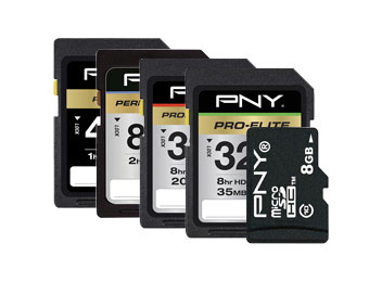 60% - 70% off PNY Flash Memory Cards