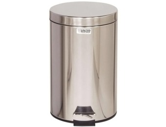 $124 off Rubbermaid Commercial Stainless Steel 3.5-Gal Trash Can