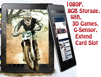 "67% Off AGPtek 9"" LCD TouchScreen Android 4.0 Tablet"