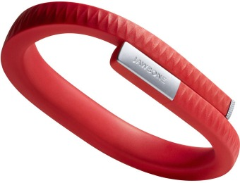 $102 off Jawbone UP Red Bluetooth Fitness Activity Tracker