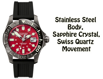 52% Off Victorinox Dive Master 500 Swiss Army Watch