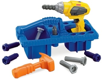72% off Fisher Price Kids' Drillin' Action Toy Tool Set