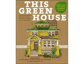 79% off This Green House: Home Improvements Book