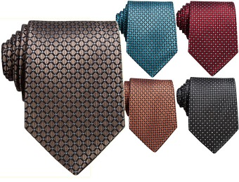 65% off Perry Ellis Ramirez Geo Silk Neck Tie, 5 Colors