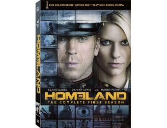 75% off Homeland: The Complete First Season (4 Discs) DVD