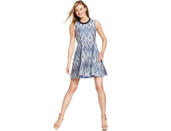 $138 off Jessica Simpson Tribal-Print Jacquard Dress