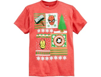 47% off Epic Threads Boys' Marvel Superhero Holiday T-Shirt