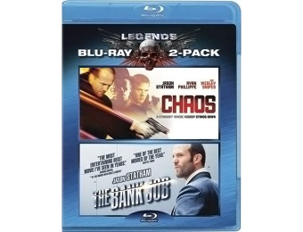 75% off Chaos / The Bank Job (Two-Pack) Blu-ray
