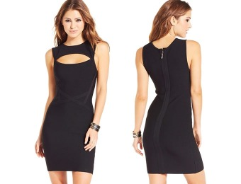 50% off Material Girl Juniors' Cutout Bodycon Dress