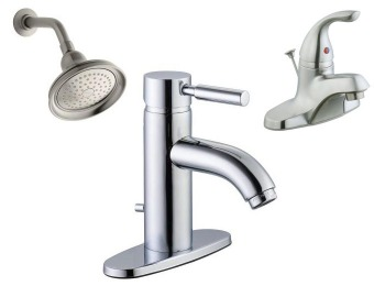 Up to 71% off Select Bath Showerheads and Faucets