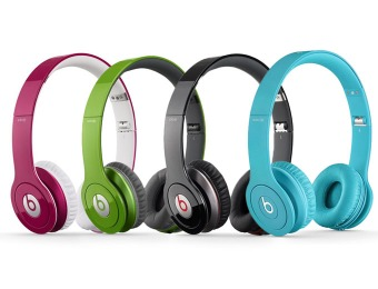 50% off Beats by Dr. Dre - Beats Solo HD Headphones, Refurbished
