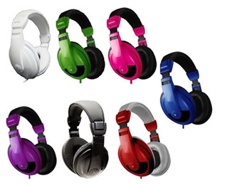 86% Off Vibe Sound DJ 750 Noise Reducing Stereo Headphones