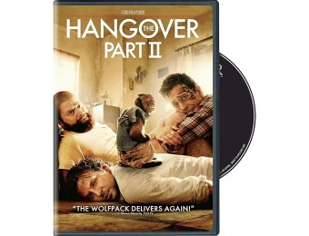 81% off The Hangover Part II (DVD + UltraViolet Digital Copy)
