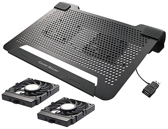 Extra $10 off Cooler Master Notepal U2 Laptop Cooling Pad