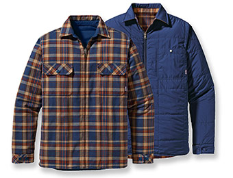 51% off Patagonia Men's Reversible Flannel Jacket