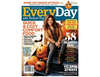 $35 off Every Day with Rachael Ray Magazine, 10 Issues / $4.95