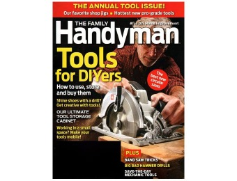 $30 off Family Handyman Magazine Subscription, 11 Issues / $8.99