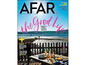 88% off AFAR Travel Magazine - 1 Year Subscription