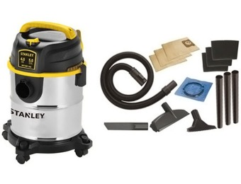 43% off Stanley Portable Stainless Steel Wet/Dry Vacuum Cleaner