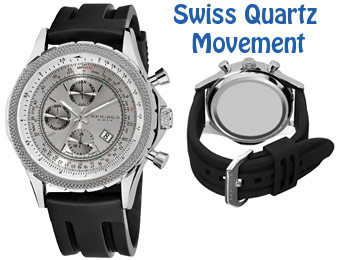 92% Off Akribos XXIV AK532SS Multifunction Swiss Quartz Watch