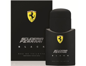 56% off Ferrari Black Eau de Toilette Spray, 1 Oz.