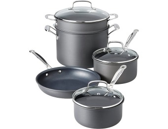 $244 off Cuisinart Chef's Anodized 8-Piece Cookware Set