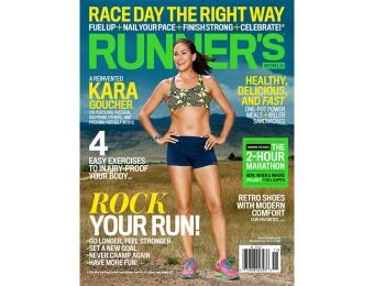 91% off Runner's World Magazine Subscription (1-year auto-renewal)