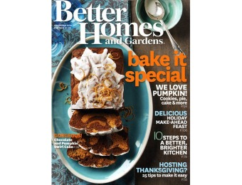$36 off Better Homes & Gardens Magazine $5 / 12 Issues