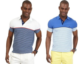 83% off Nautica Big and Tall Engineered Performance Polo