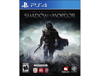 70% off Middle Earth: Shadow of Mordor (PlayStation 4)